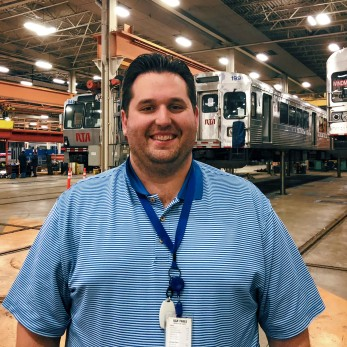 Casey, GCRTA Rail Equipment Manager